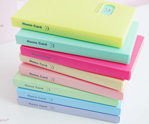 colourful, girly, and diary image
