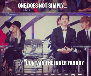 2ne1, exo, and funny image