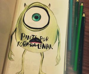 drawing, wreck this journal, and monstros sa image