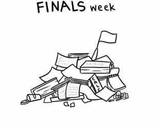finals, fml, and cute image