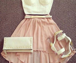 dress, girly, and shoes image