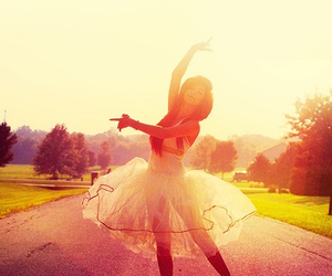 girl, dance, and ballet image