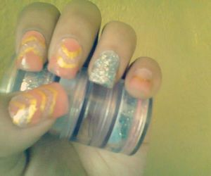 glitters, nails, and nice image