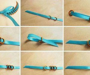 diy bracelet blue image