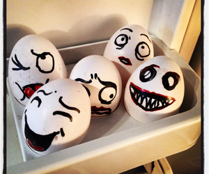 draw, easter, and eggs image