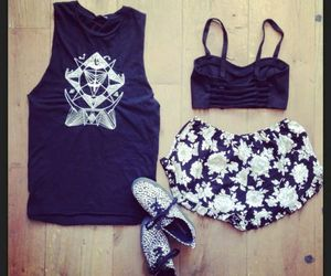 fashion, outfit, and brandy melville image