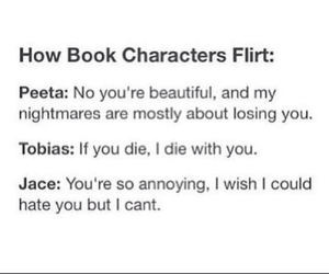 jace, the hunger games, and divergent image