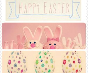bunny, decoration, and easter image