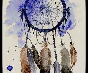 dreamcatcher, art, and dream catcher image