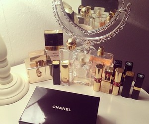 chanel, make up, and makeup image