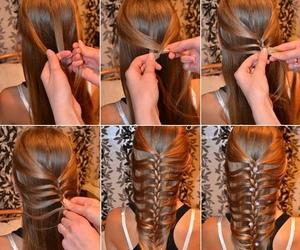 <3, diy, and hair image