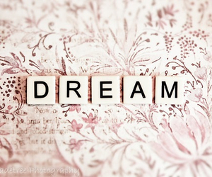 Dream, dreamer, and words image