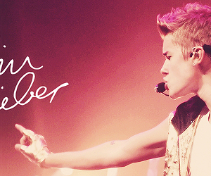 justin bieber and header image