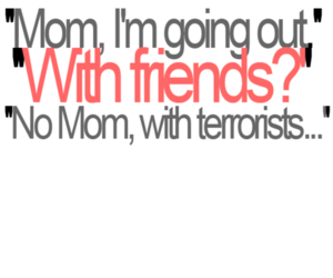 text, funny, and mom image
