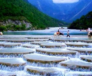 china, valley, and nature image