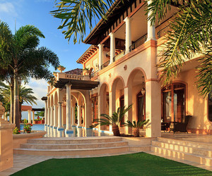 luxury, house, and summer image
