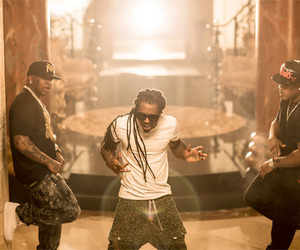 lil wayne, tapout, and rich gang image