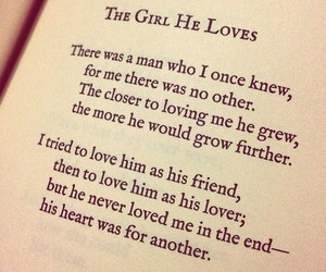 love, poem, and girl image