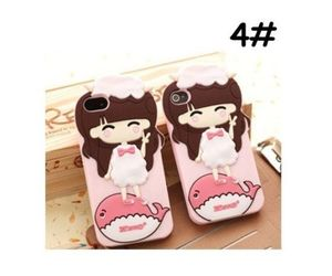 blue, pink, and cute case image
