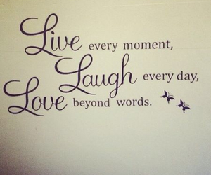 beauty, laugh, and quote image