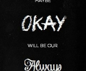 quote, always, and john green image