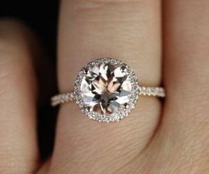 ring, wedding, and love image