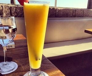 drink, alcohol, and orange image