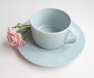 cup, flower, and mint image