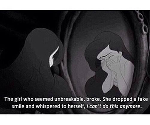 be strong, broken, and believe image