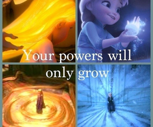 frozen, ice, and power image