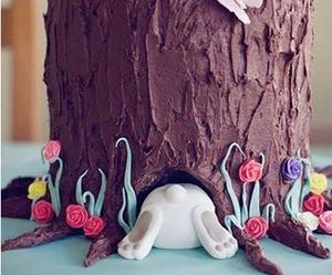cake, easter, and chocolate image