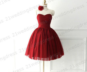 cocktail dress, homecoming dress, and prom dress image