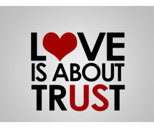 love, trust, and us image