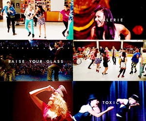 glee, new directions, and glee 100 image
