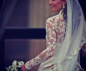 wedding, kate middleton, and beautiful image