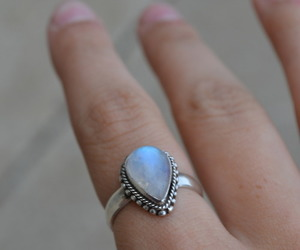 ring, fashion, and hand image