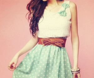 fashion, summer, and dress image