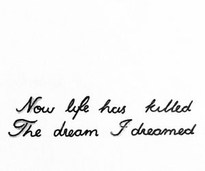 Anne Hathaway, Dream, and handwriting image