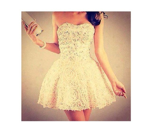 dress, girl, and pretty image