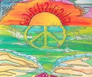 peace and sun image