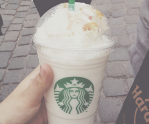 coffee, starbucks, and frappucino image