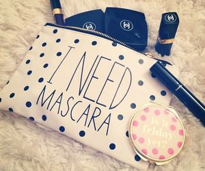 mascara, chanel, and make up image