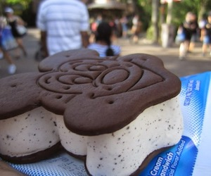 disney, food, and ice cream image