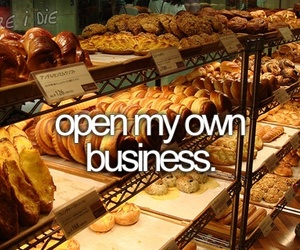 business, open, and own image