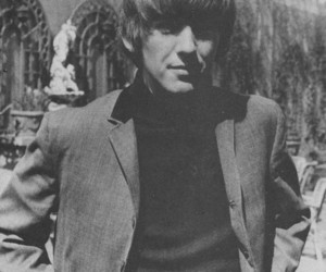 60s, black and white, and beatles image