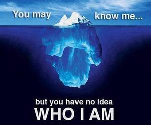 who i am and quote image