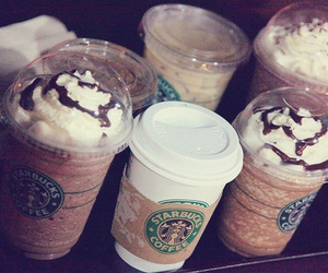 coffe, starbuck, and coffee image