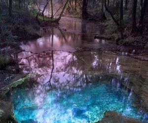 colors, lake, and magic image