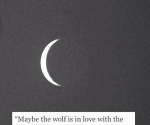 life, moon, and quotes image