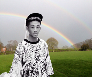 boy, rainbow, and the smiths image